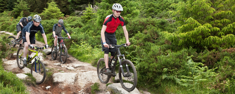 Take a Kid Mountain Biking Event