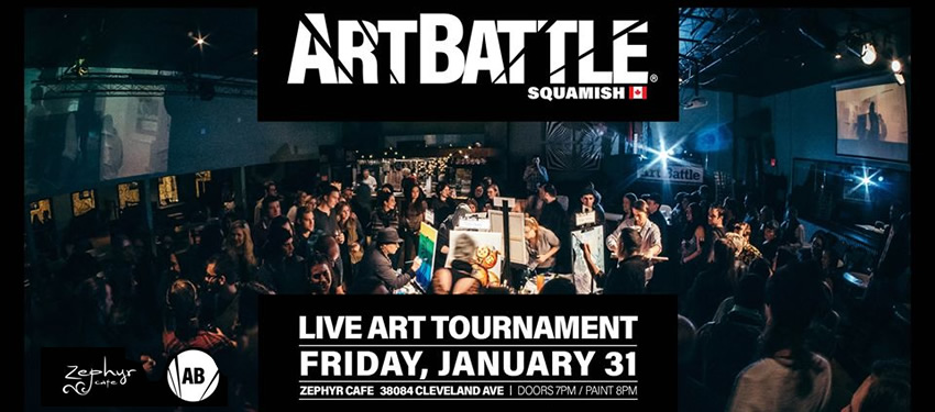 Art Battle Squamish