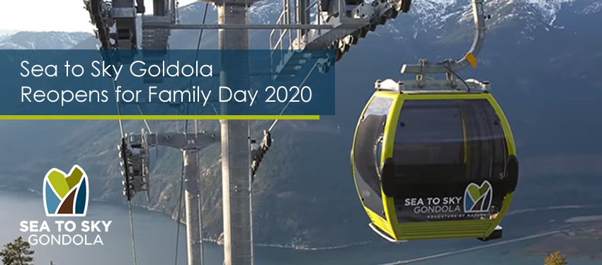 Sea to Sky Gondola Reopens February 14th for Family Day Weekend